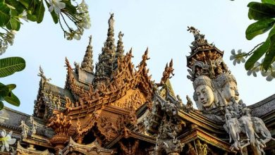 Photo of Photos: All wooden 'Sanctuary of Truth' Hindu-Buddhist temple and museum in Pattaya