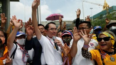 Photo of Thai royalists march against calls for amending constitution