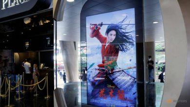 Photo of Disney's 'Mulan' gets cold reception in boycott-leading Hong Kong