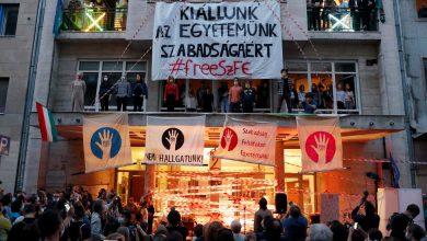 Photo of Student Blockade Protests Viktor Orban's Reach at a Top Arts University