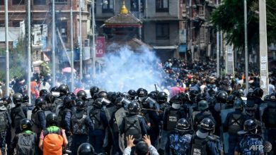 Photo of Nepal police clash with devotees defying COVID-19 ban for festival