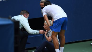 Photo of Novak Djokovic: World No. 1 defaulted from US Open after hitting line judge