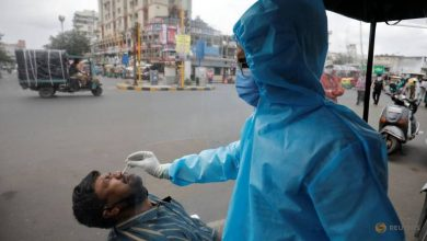 Photo of India's coronavirus cases rise to 5.2 million, with 96,424 new infections
