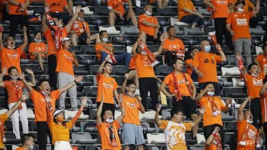 Photo of Football: Wuhan fans in tears as they watch their first match since COVID-19