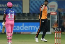 Photo of Recent Match Report – Rajasthan Royals vs Sunrisers Hyderabad 40th Match 2020