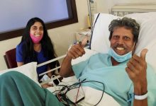 Photo of Kapil Dev 'doing fine' after surgery, discharged from hospital