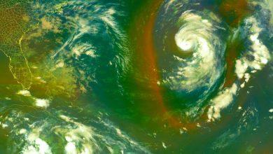 Photo of Hurricane Epsilon Makes a 'Wobbly' Northwest Turn in the Atlantic