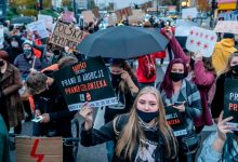 Photo of Protests in Poland Over Abortion Law Continue for Sixth Day