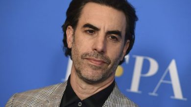Photo of 'Borat' star gives church $100K after member appears in film