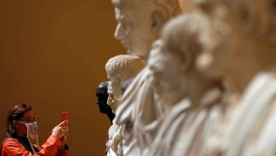 Photo of Torlonia collection's ancient sculptures back on show after restoration