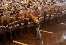 Photo of 'Danger was coming': Lone protester who defied Thai police