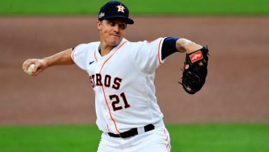 Photo of MLB playoffs: Zack Greinke pitches Astros to win over Rays