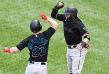 Photo of MLB playoffs: Marlins rally late to take Game 1 over Cubs
