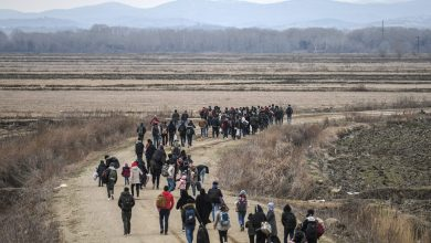 Photo of Refugees Who Assisted U.S. Military Denied Entry Into U.S.