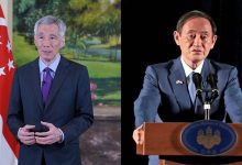 Photo of PM Lee, Japan's Suga reaffirm 'excellent relations' in phone call; leaders discuss COVID-19, travel between both countries