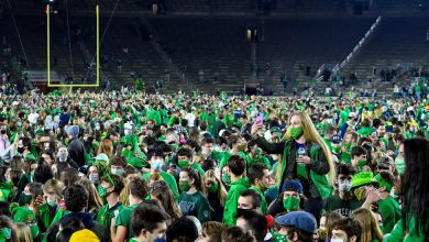Photo of Trading Blame and Worry, Notre Dame Grapples With Celebration's Fallout