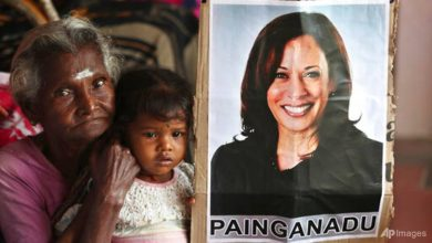 Photo of Indians in Kamala Harris' ancestral home wake up to her victory