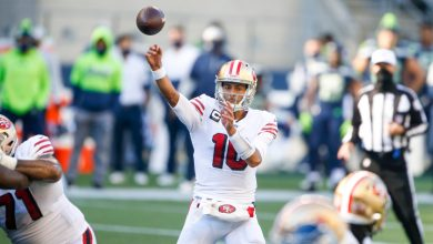 Photo of Jimmy Garoppolo, George Kittle injured as 49ers lose to Seahawks
