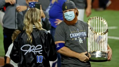 Photo of Five members of Dodgers organization test positive for COVID-19