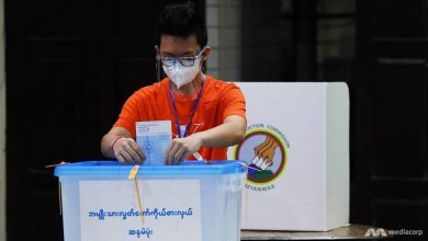 Photo of In pictures: Myanmar votes in second election since emerging from military rule