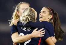 Photo of USWNT vs Netherlands: Rose Lavelle, Kristie Mewis deliver 2-0 win