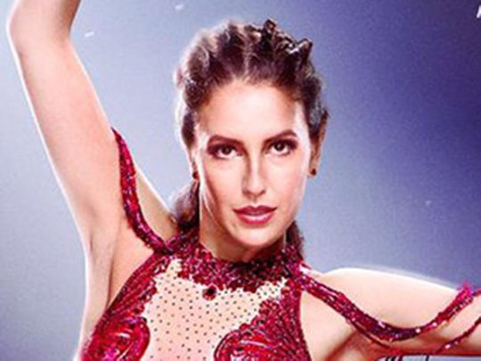 Isabelle Kaif in the poster for Time To Dance