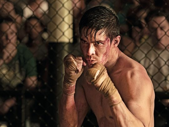 Lewis Tan as Cole Young in 'Mortal Kombat'.