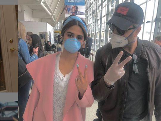 Hira Mani and Adnan Siddiqui