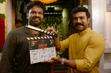 Manoj Manchu with Ram Charan at the muharat shoot-1584450546742