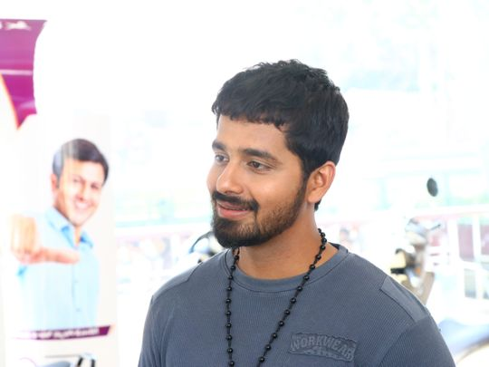 Pruthvi Ambar plays the lead in Tulu film English-1583934233657