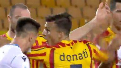 Photo of Lazio's Patric bites Lecce's Donati in Serie A (VIDEO)